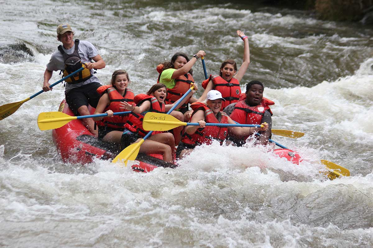 Tuckaseegee Rafting NC - Smoky Mountain River Adventures