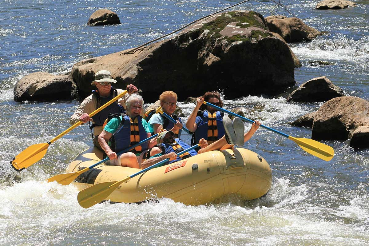 Tuckaseegee River Rafting NC - Smoky Mountain River Adventures